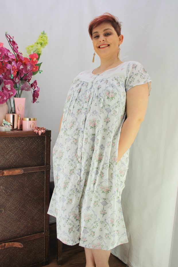 FRENCH COUNTRY 100% COTTON NIGHTWEAR - FCL103