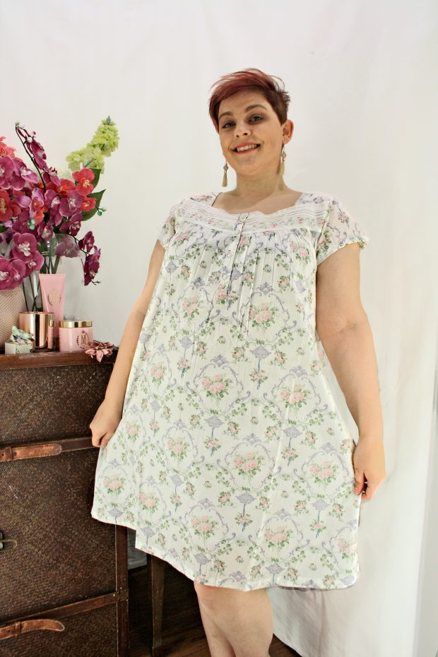 FRENCH COUNTRY 100% COTTON NIGHTWEAR - FCL104