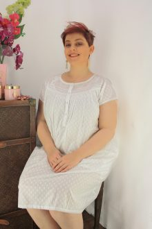 FRENCH COUNTRY 100% COTTON NIGHTWEAR - FCL114