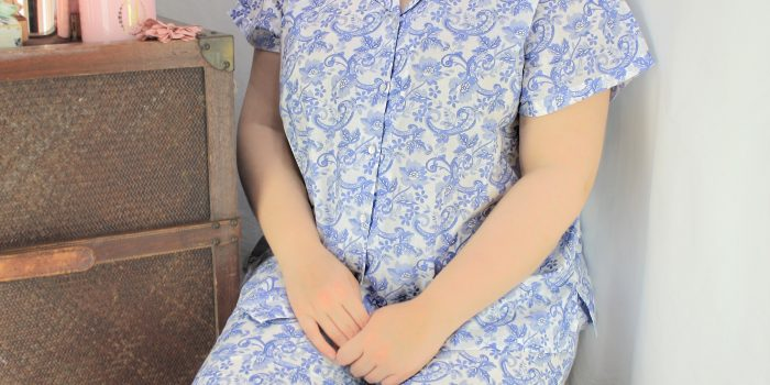 FRENCH COUNTRY 100% COTTON NIGHTWEAR - FCL154