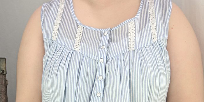 FRENCH COUNTRY 100% COTTON NIGHTWEAR - FCL173