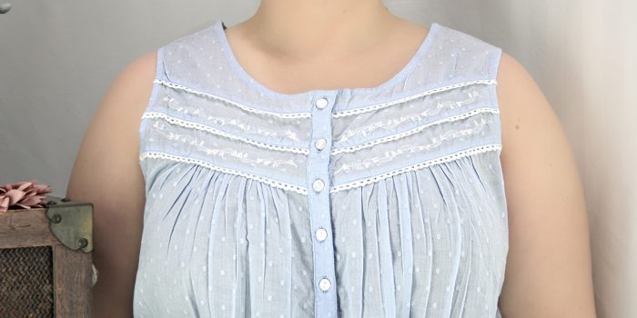 FRENCH COUNTRY 100% COTTON NIGHTWEAR - FCL181