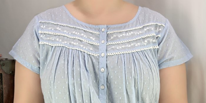 FRENCH COUNTRY 100% COTTON NIGHTWEAR - FCL182