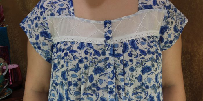 FRENCH COUNTRY 100% COTTON NIGHTWEAR FCL202v