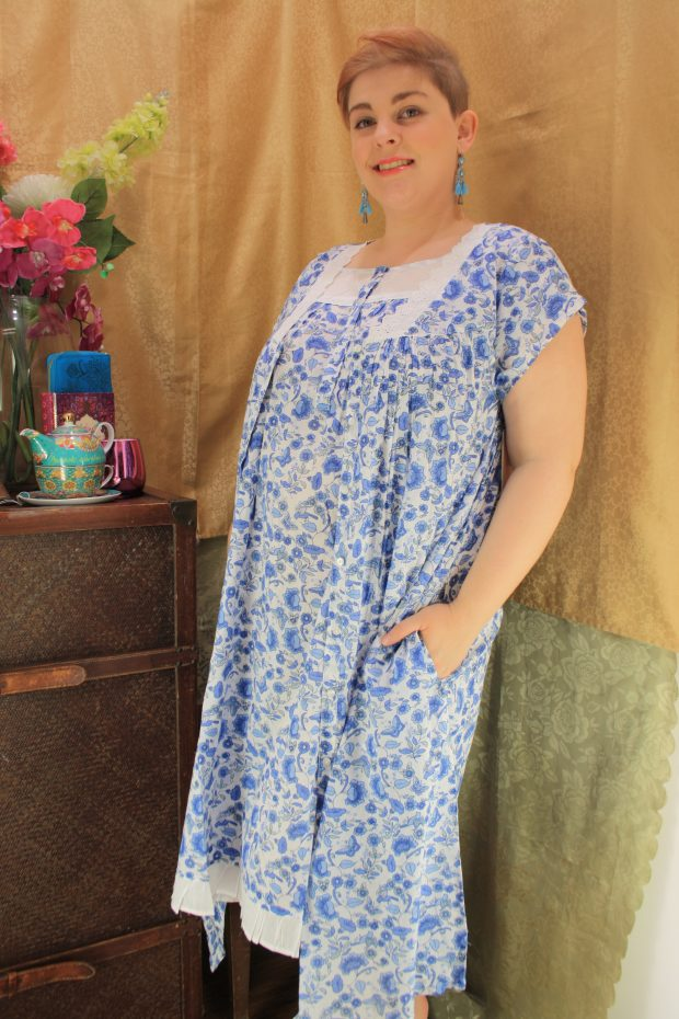 FRENCH COUNTRY 100% COTTON NIGHTWEAR FCL204v