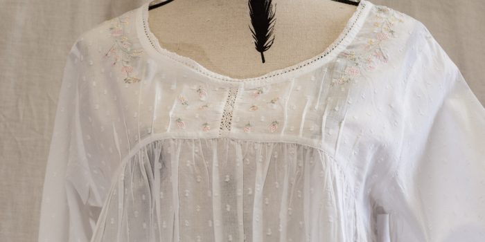 FRENCH COUNTRY COTTON NIGHTWEAR ?  FCK110