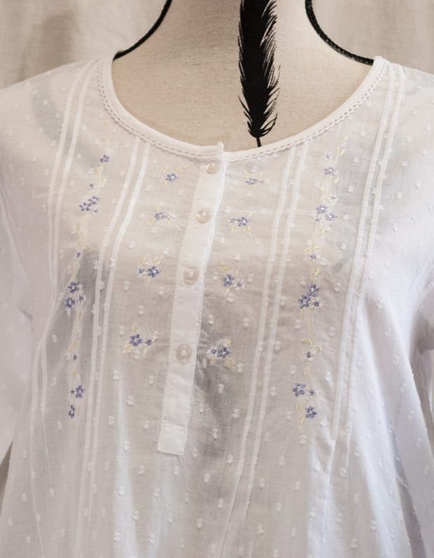 FRENCH COUNTRY COTTON NIGHTWEAR ?  FCK111