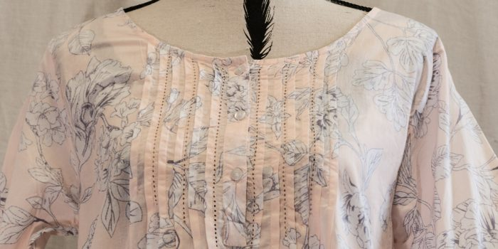 FRENCH COUNTRY COTTON NIGHTWEAR ?  FCM124