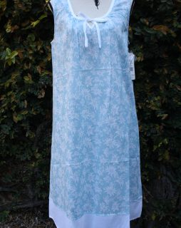 FRENCH COUNTRY 100% COTTON NIGHTWEAR - FCT104V