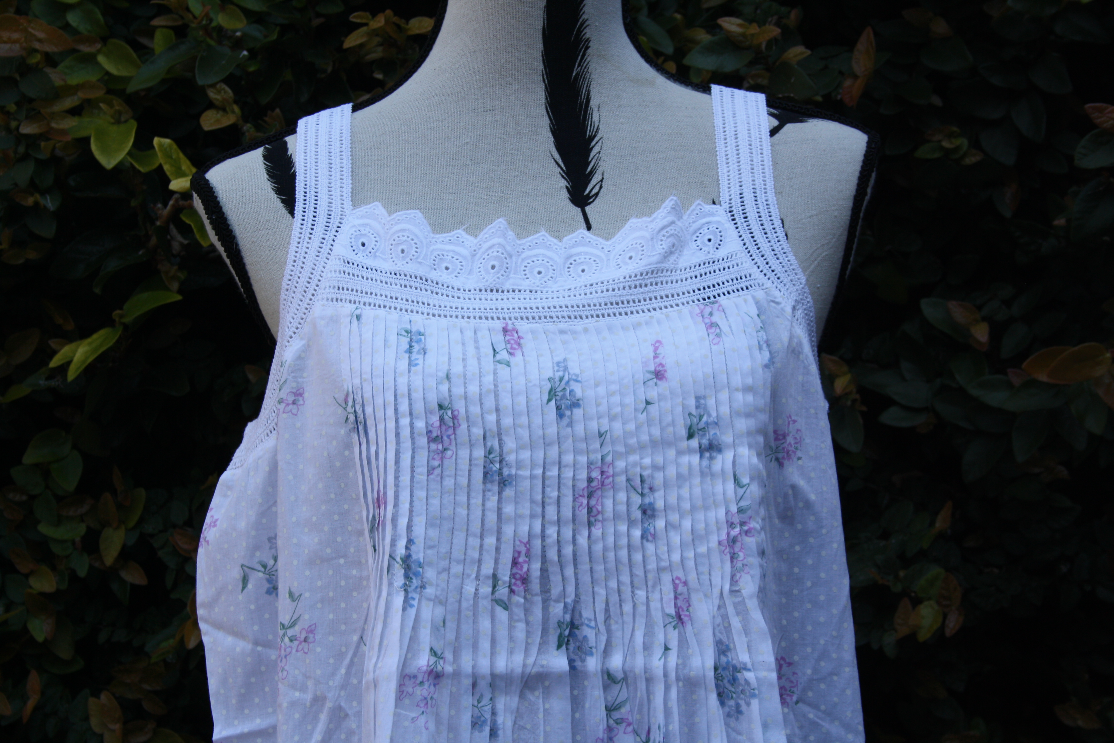 FRENCH COUNTRY 100% COTTON NIGHTWEAR - FCT140V