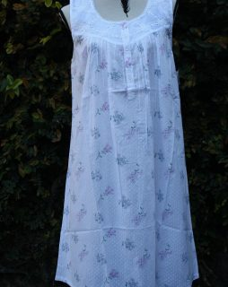FRENCH COUNTRY 100% COTTON NIGHTWEAR - FCT142V