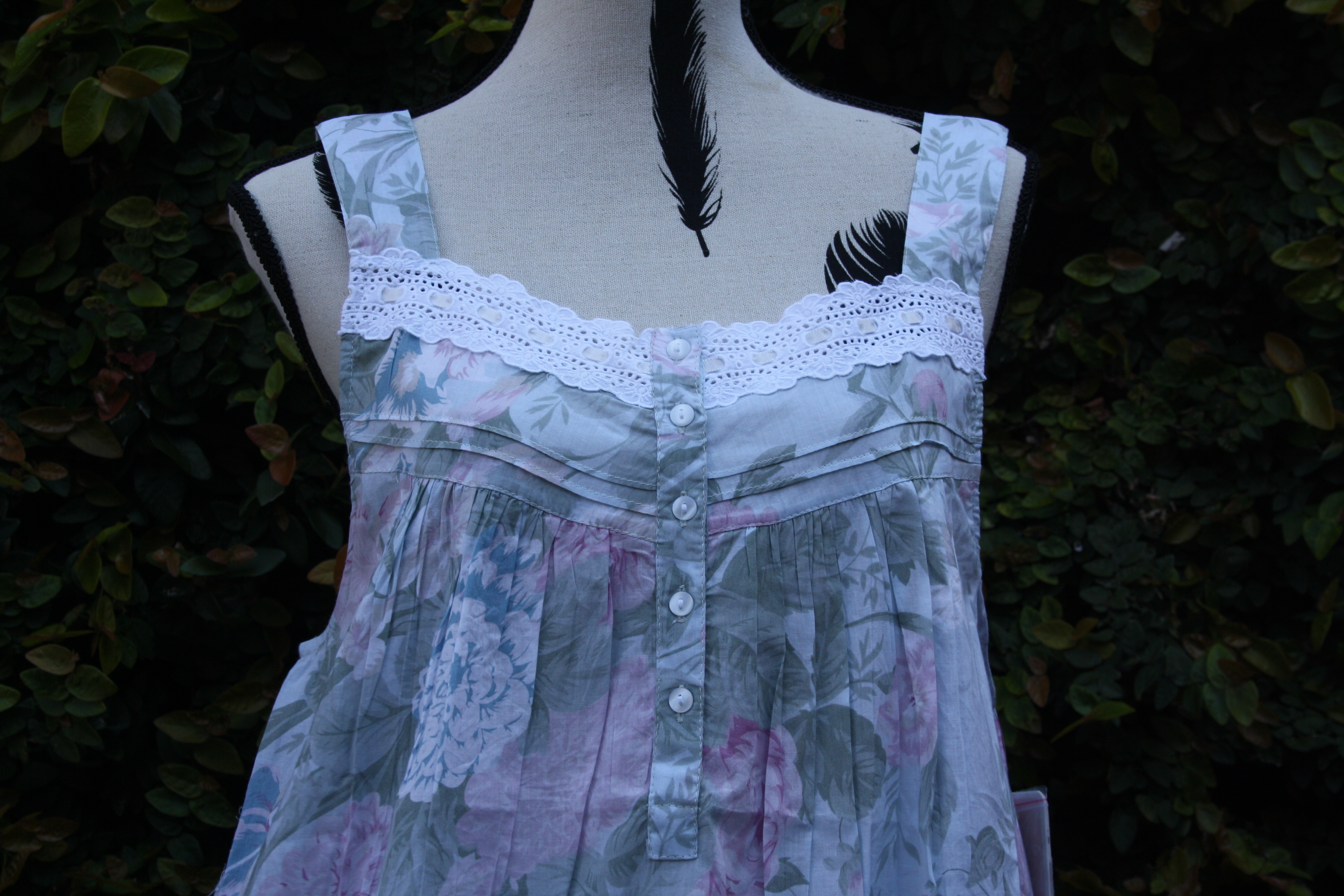 FRENCH COUNTRY 100% COTTON NIGHTWEAR - FCT162V