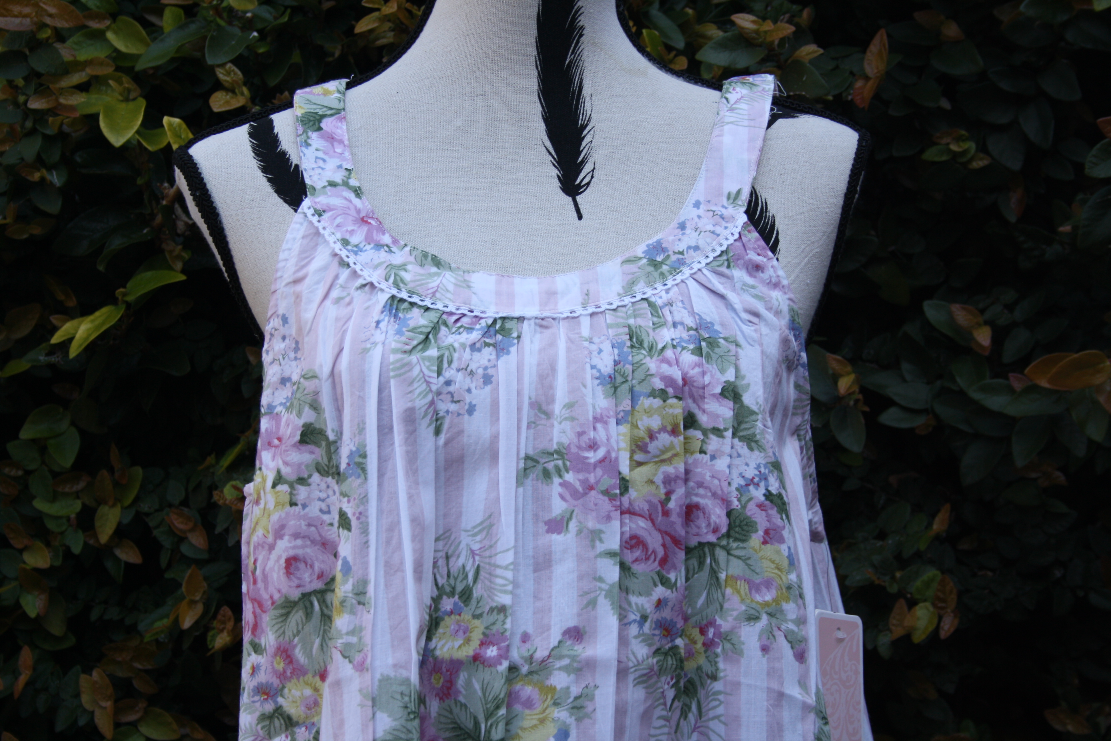 FRENCH COUNTRY 100% COTTON NIGHTWEAR - FCT194