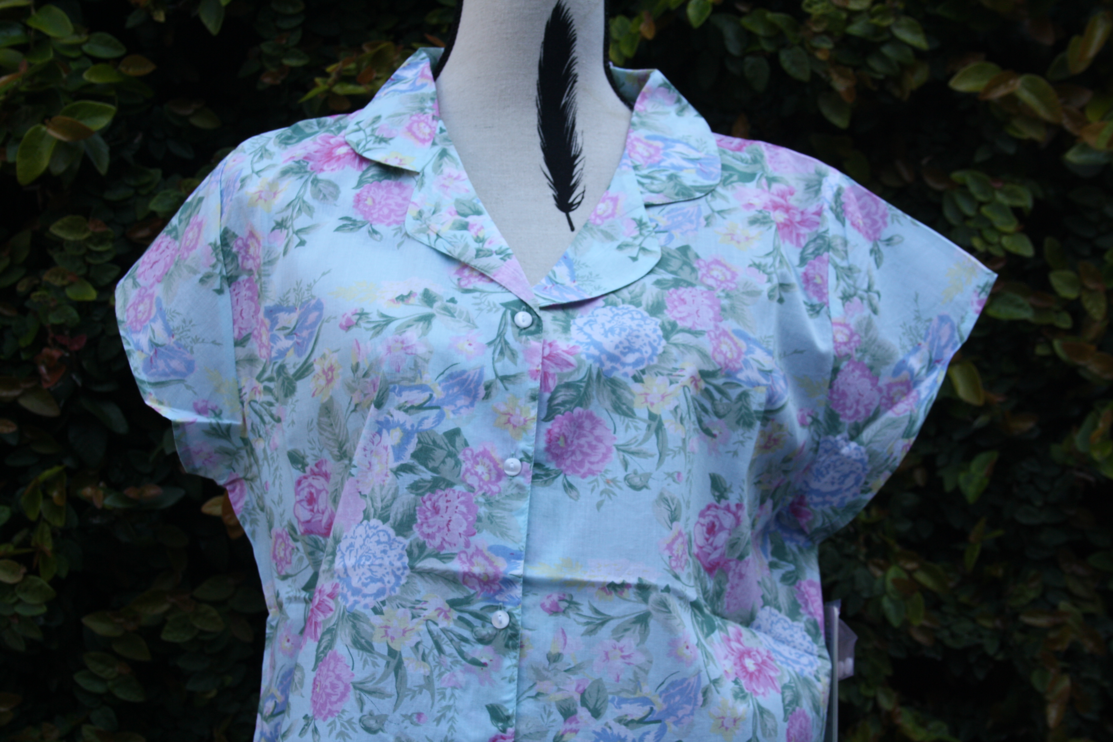 FRENCH COUNTRY 100% COTTON NIGHTWEAR - FCT205V
