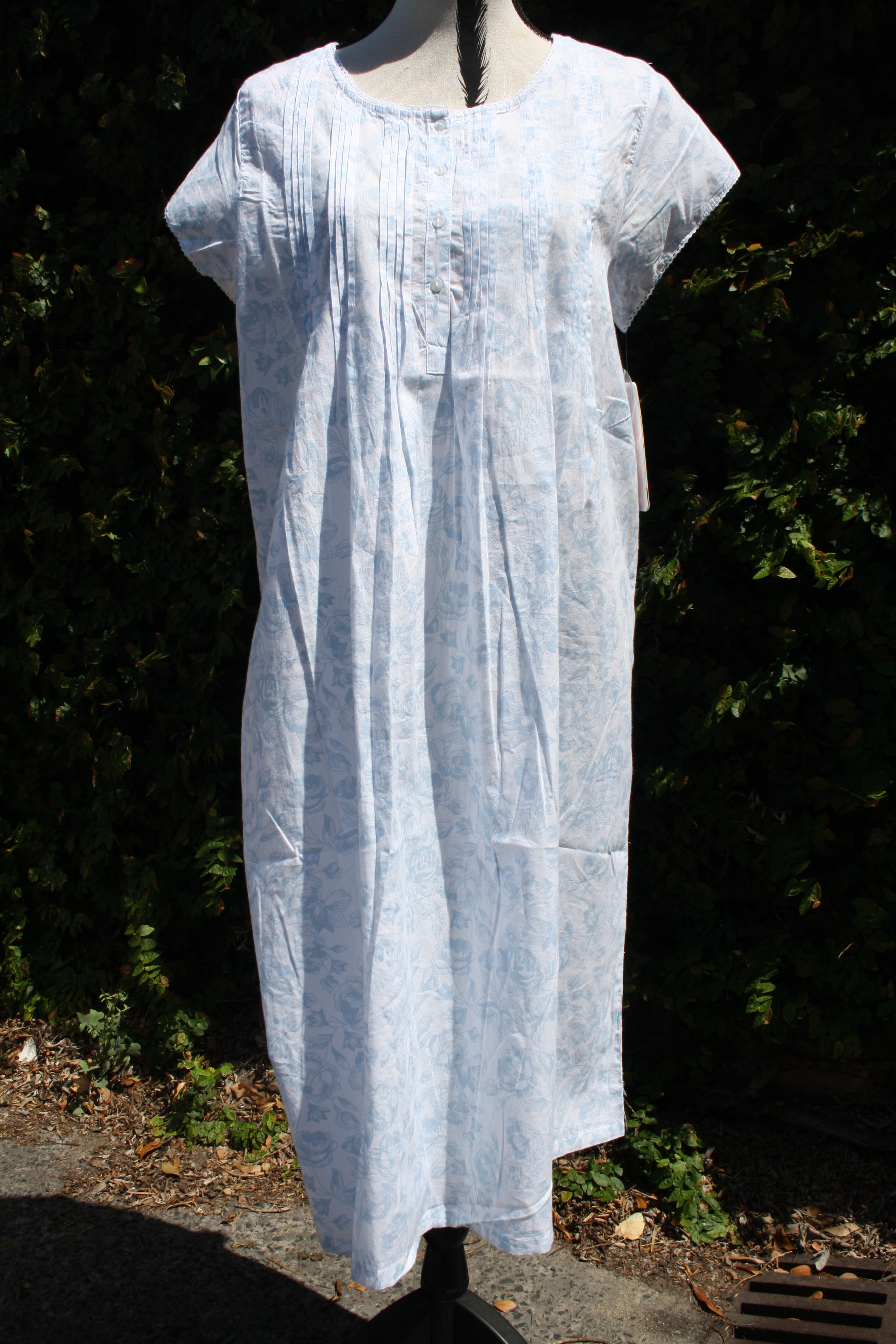 FRENCH COUNTRY 100% COTTON NIGHTWEAR - FCR103