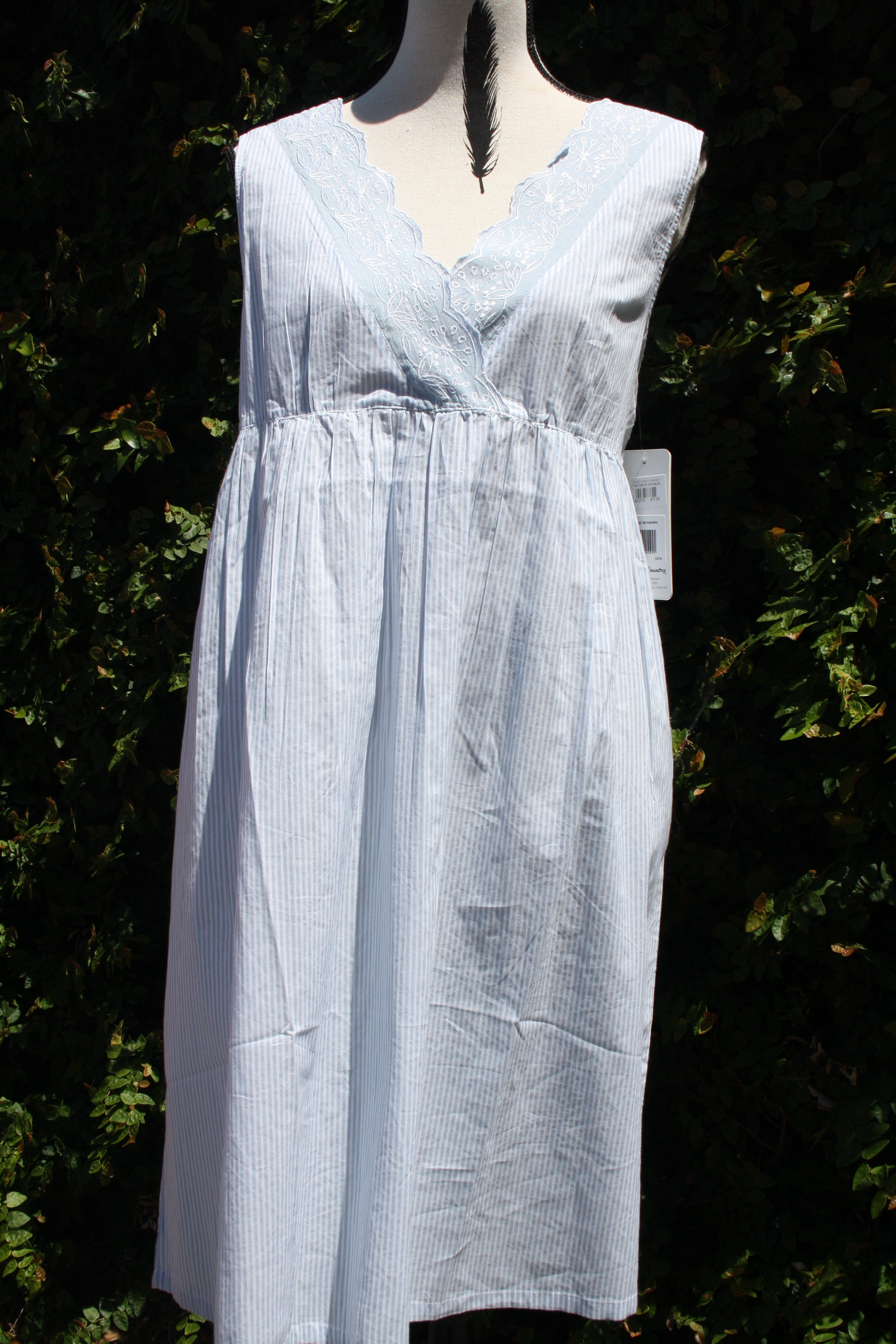 FRENCH COUNTRY 100% COTTON NIGHTWEAR - FCR110