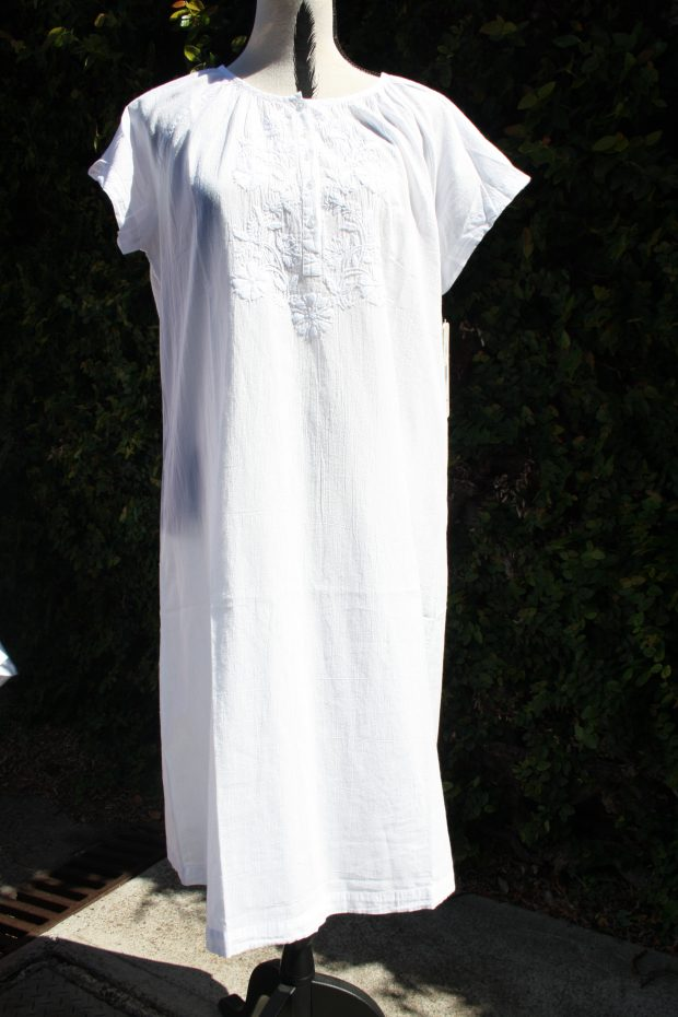 FRENCH COUNTRY 100% COTTON NIGHTWEAR - FCR125V