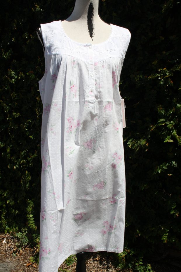 FRENCH COUNTRY 100% COTTON NIGHTWEAR - FCR142